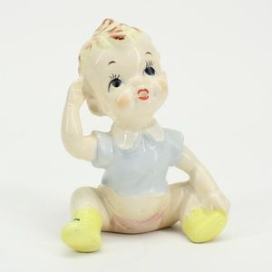 Vintage Baby Boy Figurine